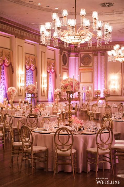 gold quinceanera themes wedluxe royal wedding vibes achieved with regal pink and