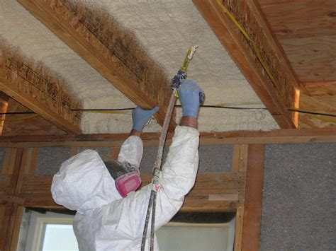 spray foam insulation a option for flat roofs and