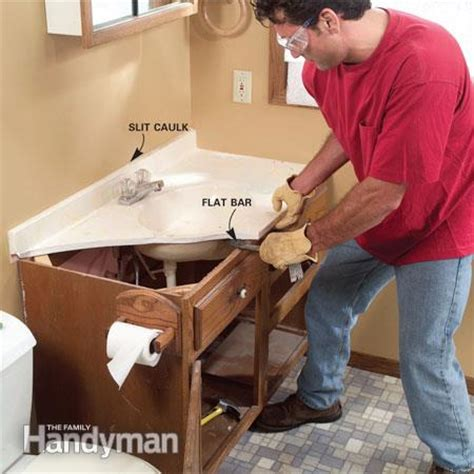Installing Vanity Top by Installing A Bathroom Sink Wall Hung Sink The Family