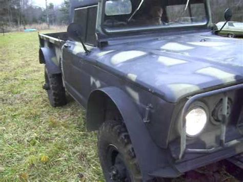 jeep kaiser m17 in the field