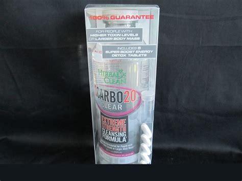 Puriclean X2 Strength Detox by Herbal Clean Carbo 20oz