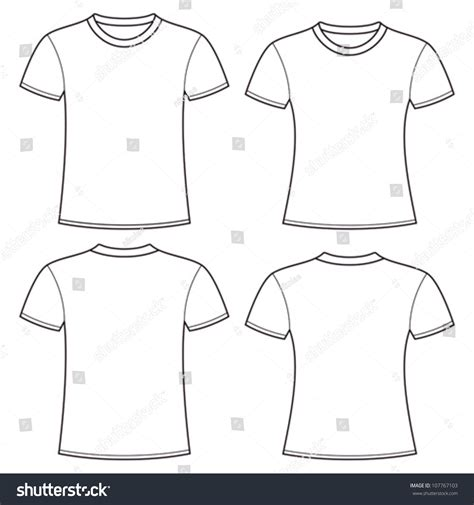 blank clothing templates 28 images t shirt outline
