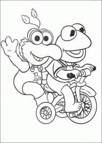 muppet babies coloring pages coloringpagesabc com