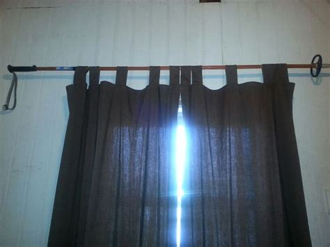 repurpose old curtains repurposed an old ski pole for a curtain rod ski art
