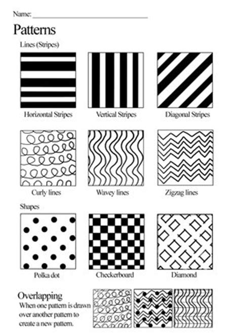 pattern and line worksheets pattern worksheet by skimlines on deviantart