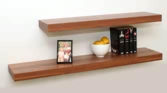 Bookshelves Floating Walnut Floating Shelf Kit 1150x250x50mm Mastershelf