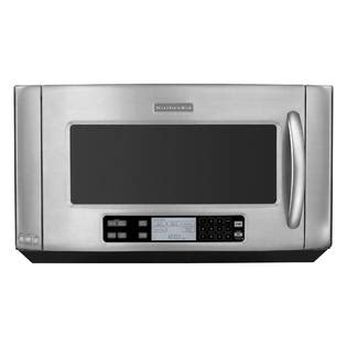 kitchenaid microwave hood fan kitchenaid over the range microwave 2 0 cu ft