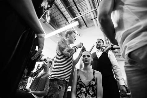 Runway Backstage At Doori by Review Matthew Morris Salon Celebrates 10 Years With