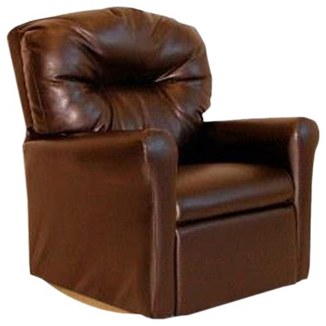 brown leather rocker recliner chair dozydotes child rocker recliner contemporary pecan brown