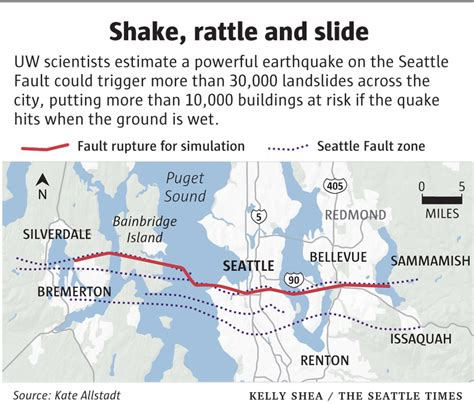seattle landslide map volcano madness geology2 when seattle shakes from