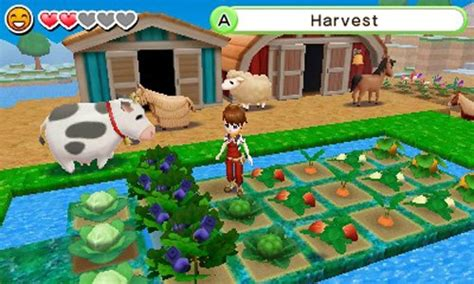 Kaset Harvest Moon 3d A New Beginning 3ds jual harvest moon skytree 3ds toko