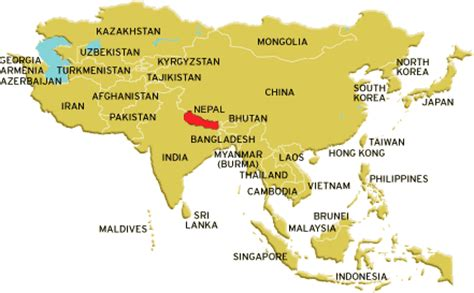 where is nepal on the map where is nepal nepal is in between india and china visitnepal