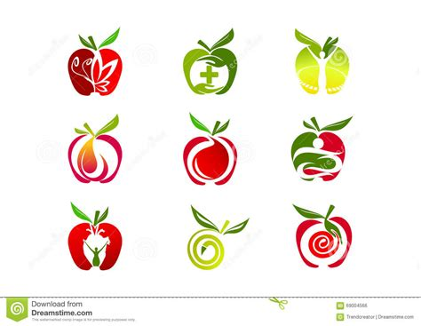 clipart logo apple logo design stock vector illustration of
