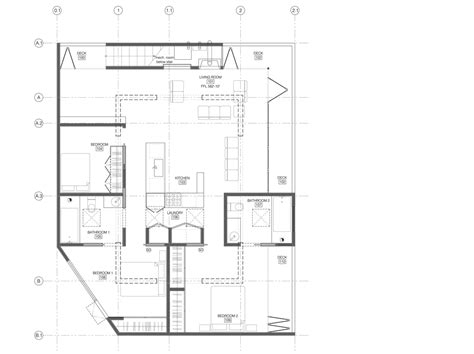 Roof Deck Plan Foundation Car Park House Openbuildings