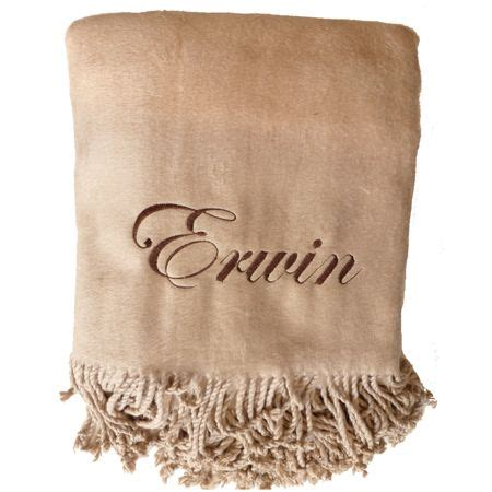 personalized throw blankets with picture 23 best embroidered personalized luxury images on