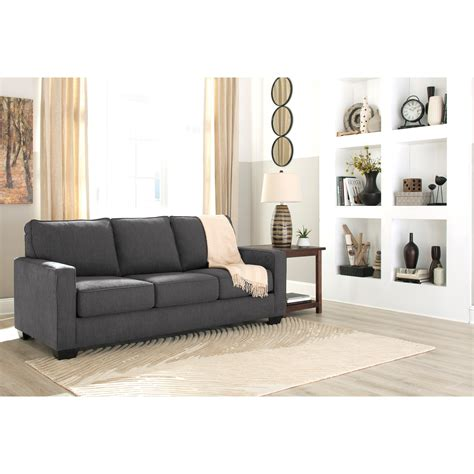 zeb queen sofa sleeper signature design by ashley zeb queen sofa sleeper with