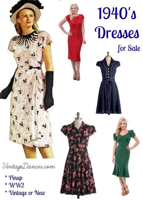 1940s dresses on 1940s fashion vogue patterns