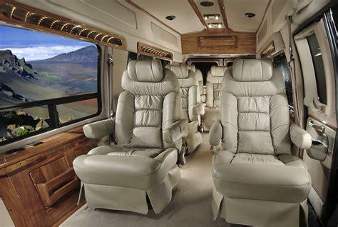 luxury minivan luxury limo vans