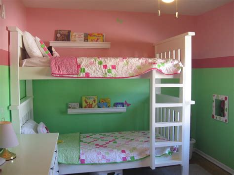 white simple bunk bed plans diy