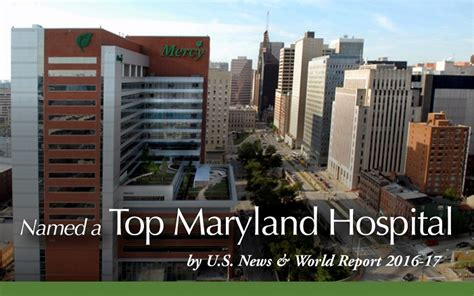 Mercy Center Detox Baltimore by Best Regional Hospital In Maryland Us News World