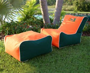 college football bean bag chairs 17 best images about miami hurricanes on keep