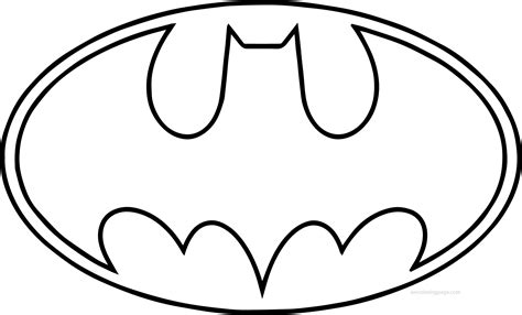 Batman Symbol Coloring Pages Batman Logo Coloring Pages Coloring Home by Batman Symbol Coloring Pages