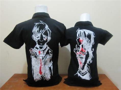 Polo Anime polo anime hitam b baju aiyushop