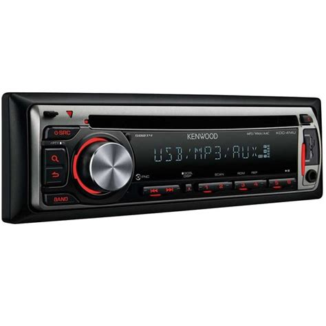 How To Add Usb Port To Car Stereo by Kenwood Kdc 414ua Cd Mp3 Car Stereo Front Usb Port Aux