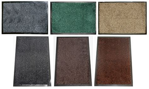 Indoor Front Door Mat Washamat Washable Anti Slip Back Doormat Hardwearing Indoor Entrance Scraper Mat Ebay