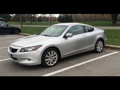 Stop L Honda Accord 2014 Up 2009 honda accord ex l v6 coupe 60k update