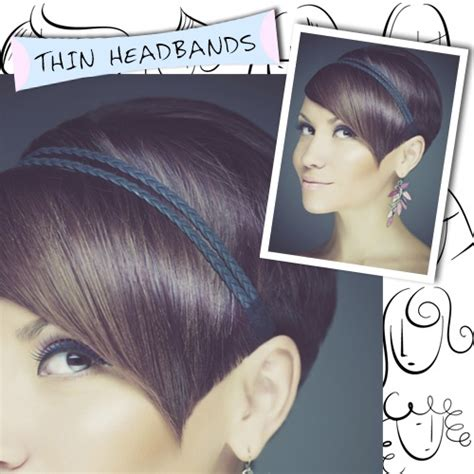 how to wear headband with hair