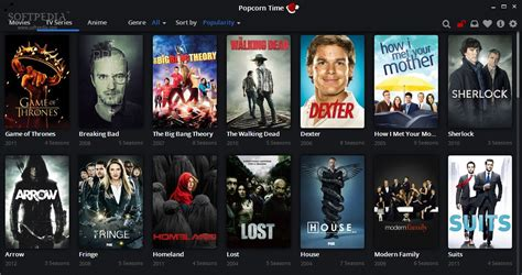 tv shows popcorn time review tv series and anime