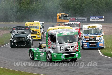 trucks race european truck racing truck race information service