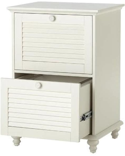 White File Cabinet 2 Drawer by Deal On Shutter Two Drawer File Cabinet 2