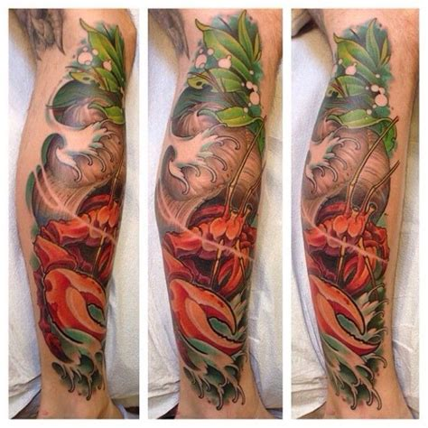 hermit crab tattoo hermit crab by evan dowdell skulls tattoos