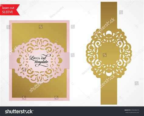 laser cut cards template laser cut wedding invitation template silhouette stock
