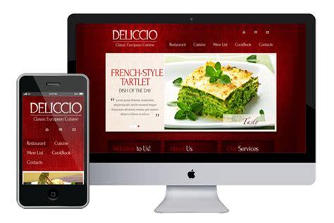 Zdeliccio Free Responsive Html5 Theme Zerotheme Free Responsive Restaurant Website Templates