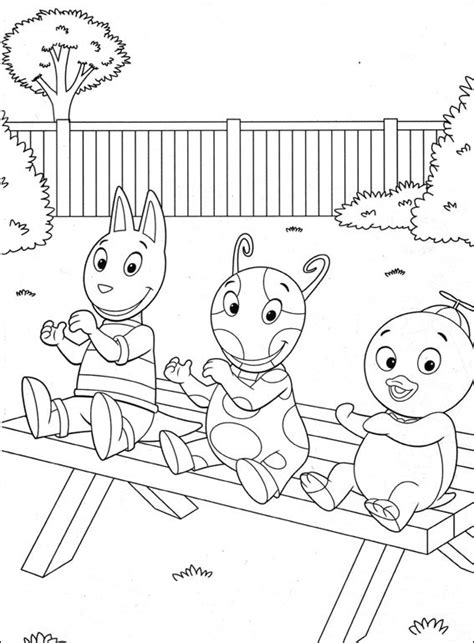 Coloring Pages Backyardigans