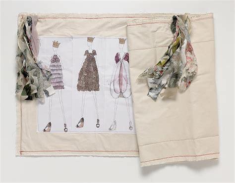 fashion design sketchbook on teaching fashion visual writing worn through