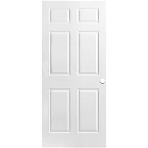 Shop Reliabilt Hollow Core 6 Panel Slab Interior Door 32 X 78 Exterior Door