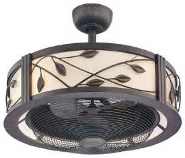 cage enclosed ceiling fans bring back comfort into your home 15 wonderful enclosed