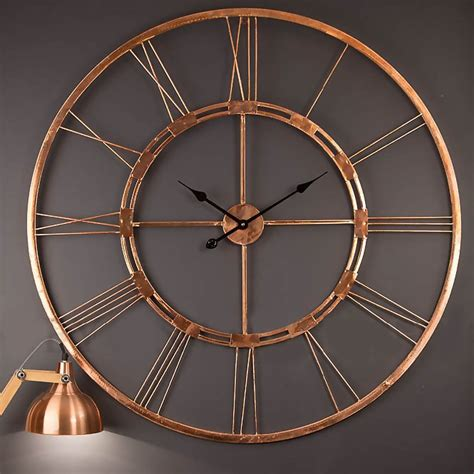 oversized clocks clocks large metal wall clock extra large decorative wall
