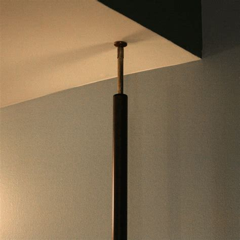 floor to ceiling l floor to ceiling light pole stiffel light pole l brass