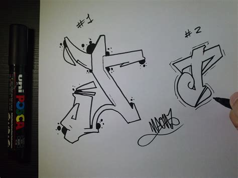 Letter J Drawing by How To Draw Graffiti Letter Quot J Quot On Paper