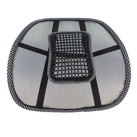 car seat mesh lumbar back brace support cushion aliexpress buy car seat office chair back lumbar