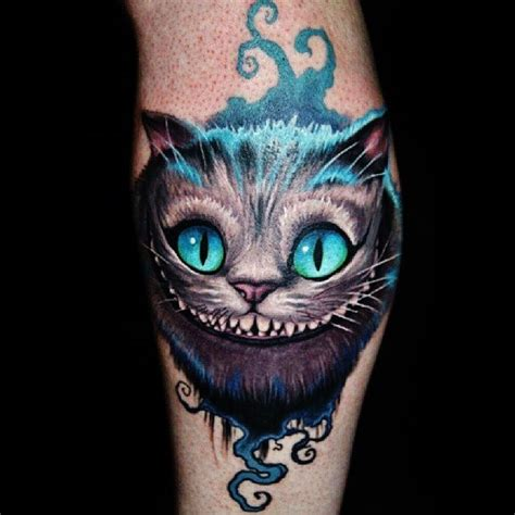 cheshire cat tattoo design 55 awesome cheshire cat tattoos