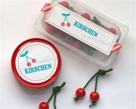 Basteln Mit Obst by Obst Basteln Kirschen F 252 R Den Kaufladen Selber Machen