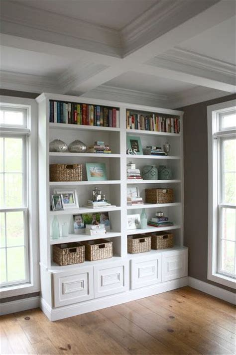 simple built in bookcase four simple steps to a great bookcase display no place