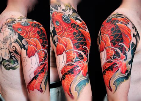 koi fish sleeve tattoos designs meanings koi fish meaning and 29 design ideas