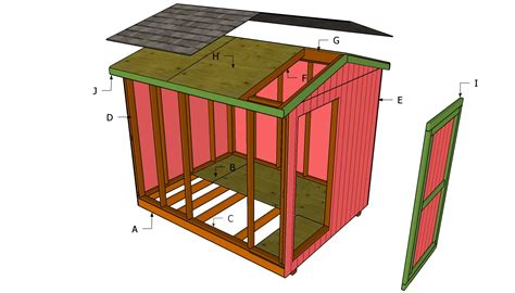Shed Plans 8x10 complete 8x10 shed plans 8 by 16 storage issa